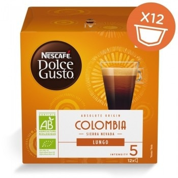 Absolute Origin Lungo Colombia 12 ροφήματα NESCAFÉ® Dolce Gusto® - Συσκευασία 16 Καψουλών